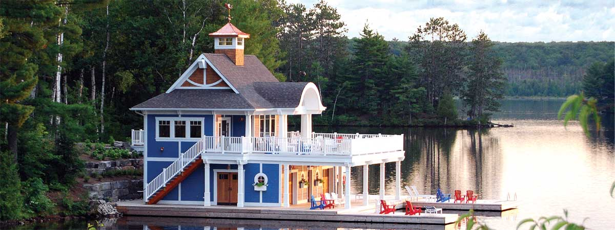 The Beautiful Boathouse